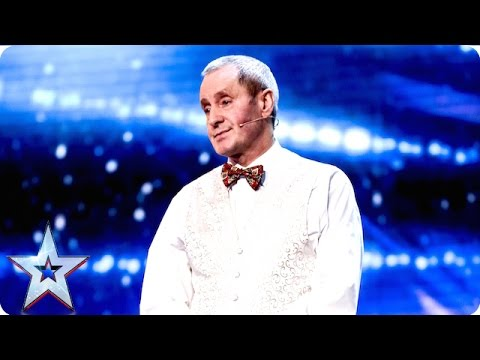 Jim Everett has a trick in store for David | Week 2 Auditions | Britain's Got Talent 2016
