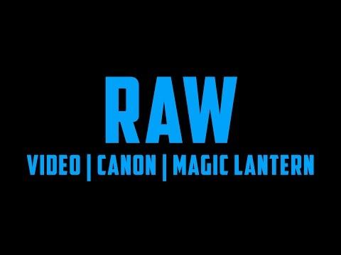 Как снимать видео в RAW на Canon   Подробно о главном