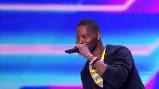 Daryl Black X Factor Audition