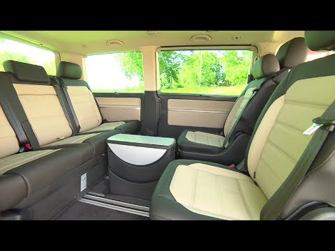 volkswagen t6 multivan highline 4motion 2018 interior. Black Bedroom Furniture Sets. Home Design Ideas
