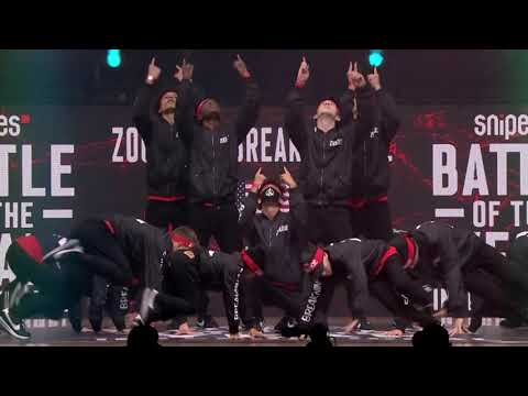 Zoologic Break Ninjaz (USA) - SNIPES Battle Of The Year 2018 - Showcase
