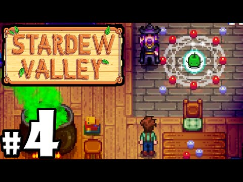 Stardew Valley Gameplay Walkthrough PART 4 - Mine Monsters, Wizard's Tower, Community Center PC