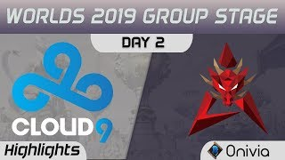 C9 vs HKA Highlights Worlds 2019 Main Event Group Stage Cloud9 vs Hong Kong Attitude by Onivia
