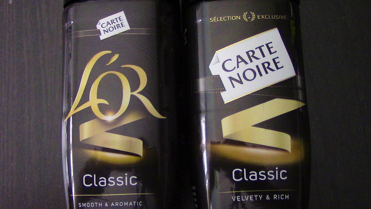 Assez Carte Noir V L'or REVIEW a bit rambley - YouTube IR16