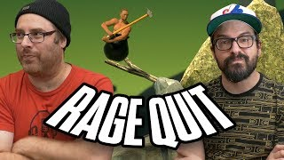 RAGE QUIT : Getting Over It with Bennett Foddy