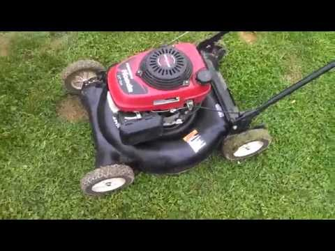 Craftsman push mower with a Honda engine, 20 bucks