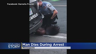 Video Shows MPD Officer With Knee On Man's Neck For At Least 7 Minutes
