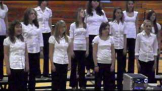 Erwin Honors Chorus-rhythm of the rain