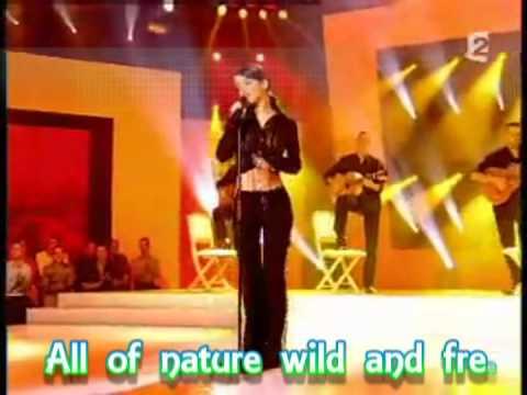 Alizée - La Isla Bonita with Lyrics Version