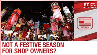 Festive shopping begins in Delhi markets even as shopkeepers claim low sales