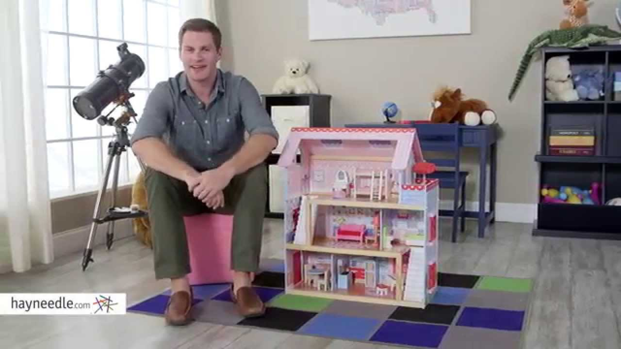 Kidkraft Chelsea Dollhouse Product Review Video