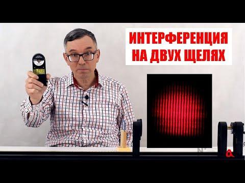 Интерференция света на двух щелях