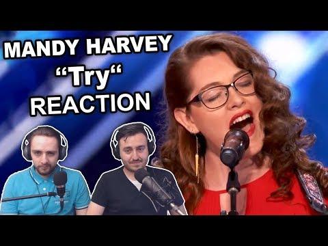 Mandy Harvey  Try Singers Reaction