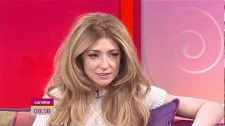 Nicola Roberts - Interview on Lorraine 03.01.2012.