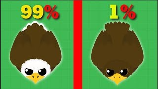 ULTRA RARE GOLDEN EAGLE // Mope.io Update // Mope.io Bests And Funny Moments