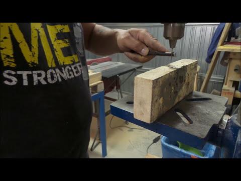 Truschino fai da te in ferro per legno making a metal for Youtube fai da te legno