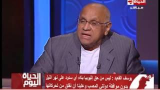 بالفيديو.. يوسف القعيد: ليس من حق نتنياهو الحديث عن إنشاء بنك للمياه