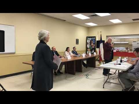 Fayette County Judge Candidate Forum Part 1