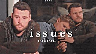 aaron + robert   issues
