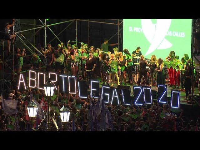 Аргентинские женщины за легальный аборт
