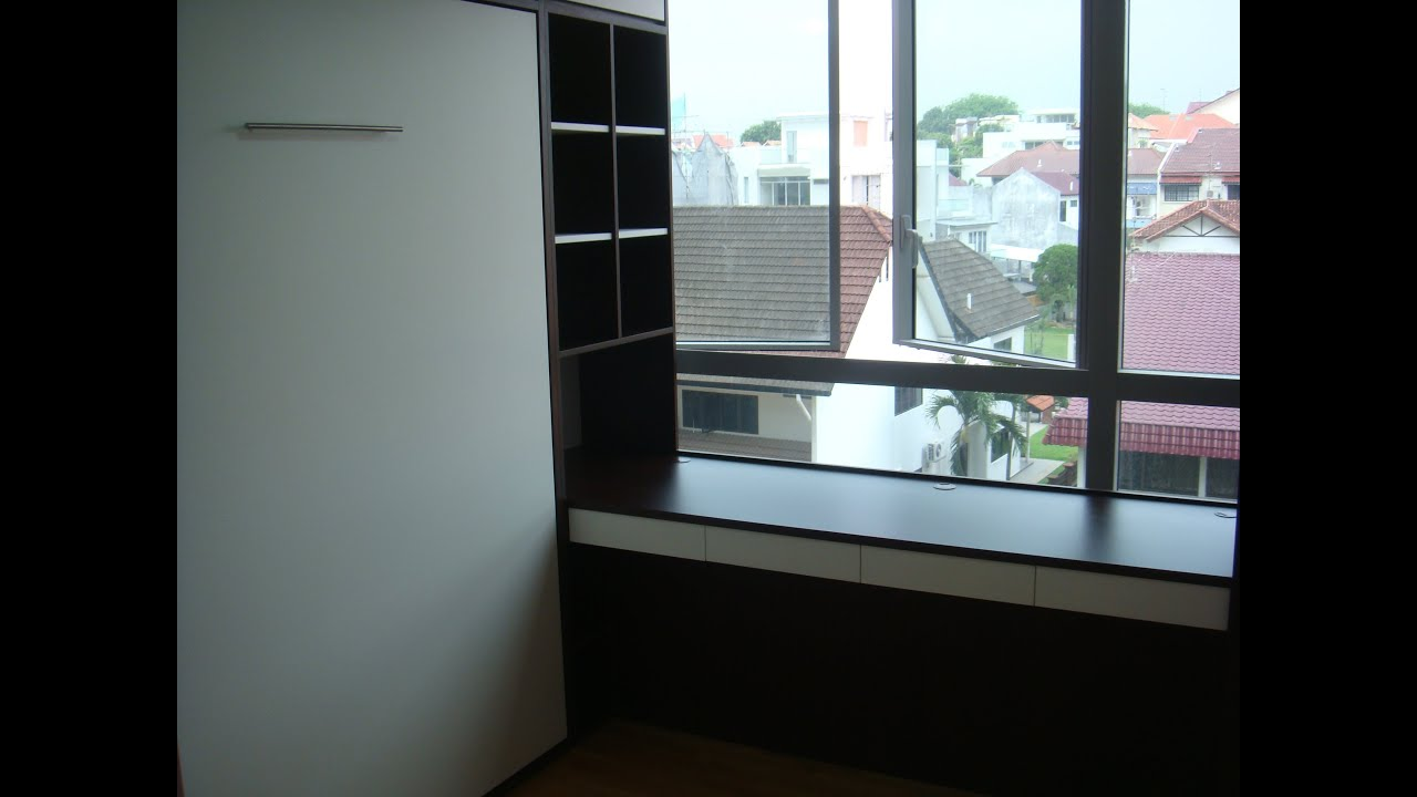 Srm Furnitures: The MINTON CONDO @Hougang Child'sRm HWB-Queen+Table