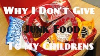 Why I Don't Give Processed Junk Food & Sweets To My Childrens I Sonia Indigo