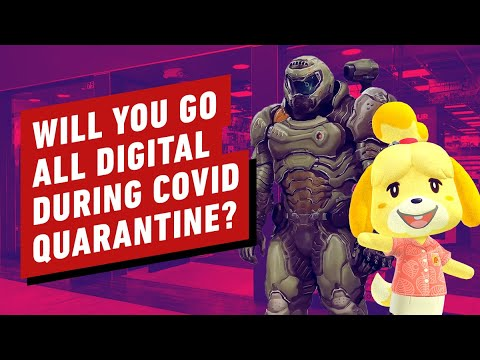 Will You Go All Digital During the COVID-19 Quarantine?