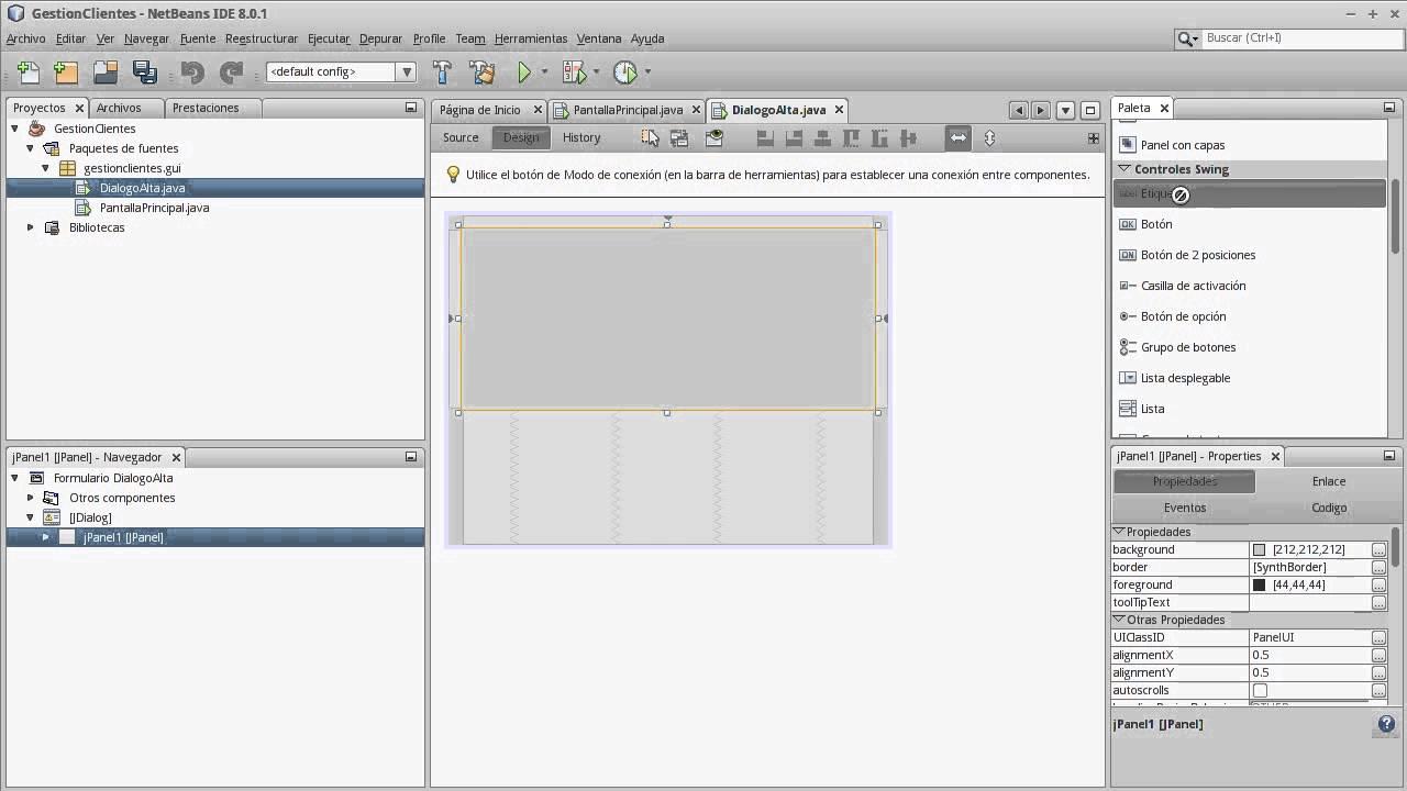 UT1-4 Desarrollo de Interfaces - Creación de una