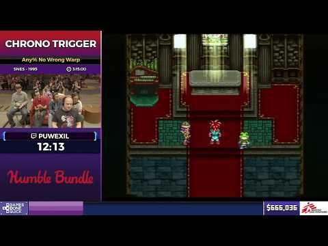 SGDQ 2017 - Chrono Trigger Speedrun (Any%)