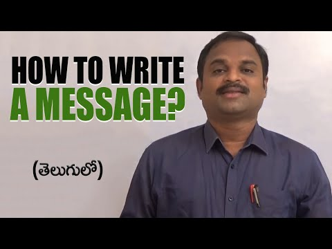 how to write a message on a dating site