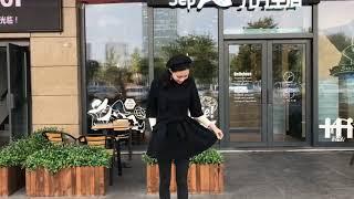 [해외직구] 키 작은 모직 원피스 여자 2018 가을 …