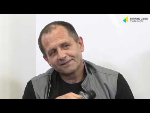 Ukraine Crisis Media Center: Перша після звільнення прес-конференція Володимира Балуха. УКМЦ 16.09.2019