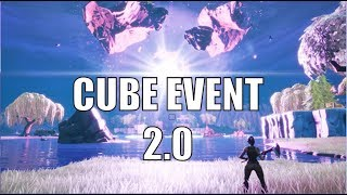 CUBE EVENT v2 CONFIRMED?! LEAKED FILES! (FORTNITE Season X)