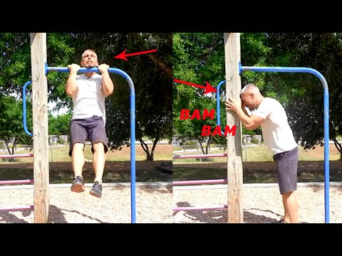 Calisthenics exercises: How to do a chin-up - A guide to your first chin-up ever (HD)