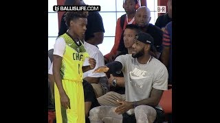LeBron James Jr. Is Looking For His Own Crown