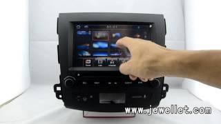 Mitsubishi Outlander Citroen C-Crosser Peugeot 4007 DVD GPS Navigation