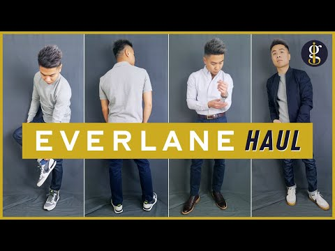 Everlane Try-On Haul & Review | Men's Fashion Basics | Ethical Clothing Brand