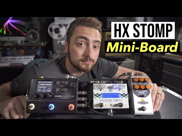 This Pedalboard Does EVERYTHING | HX Stomp Rig Build