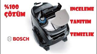 Bosch Runn'n ProSilence Allergy Elektrikli Süpürge Tanıtım/İnceleme ve Temizliği