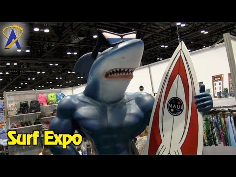 Surf Expo tradeshow at Orange County Convention Center