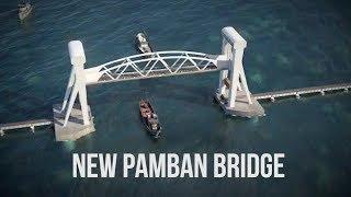 First vertical lift Pamban bridge of Indian Railways and a rail link to Ram Setu!