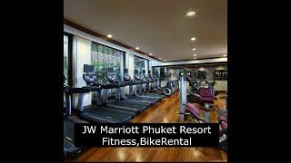 JW매리어트 푸켓리조트 피트니스클럽,자전거대여