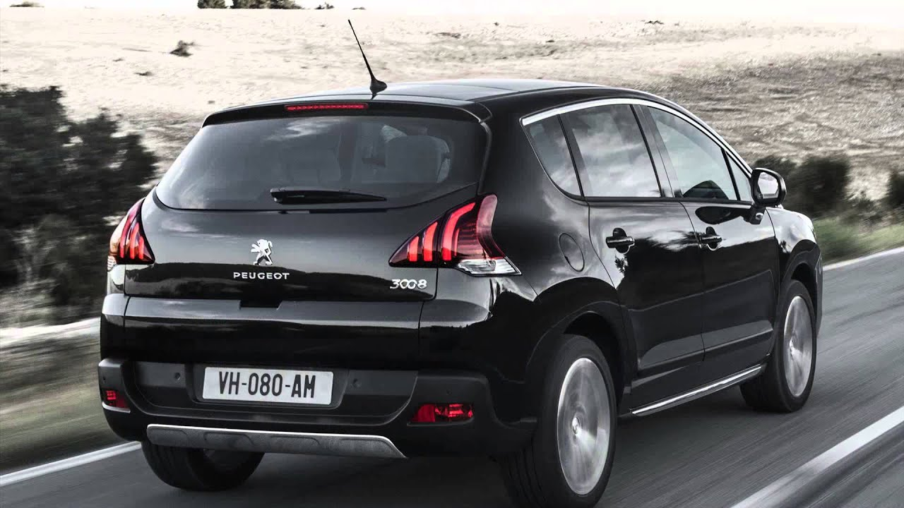 Peugeot 3008 Allure 1.6 16v Turbo Ano 2015 Model