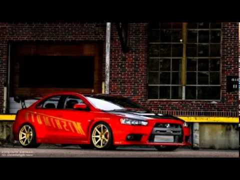 mitsubishi lancer custom paint