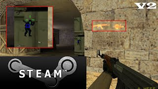 Wall Hack Indectectable Para Counter Strike 1.6 STEAM V2 |2018|