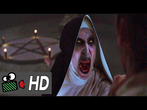 Killing The Nun Last Scene  The Nun (2018)--MR.CLIPPER