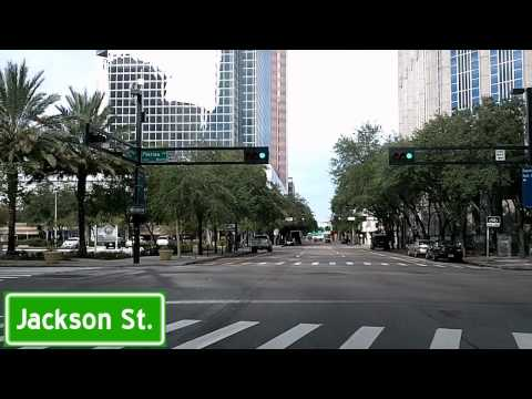 RNC Driving Guide: Airport to Downtown to Ybor City: Roads That Will Be Open Dashcam