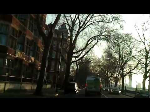 Driving in London - Chelsea Wharf to Brixton