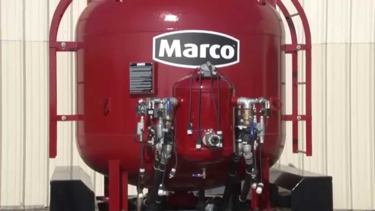 Marco 174 Blastmaster 174 Bulk Abrasive Blasting Pots Overview