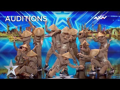 BEAUTIFUL East Meets West Dance From Vietnam | AXN Asia's Got Talent 2019